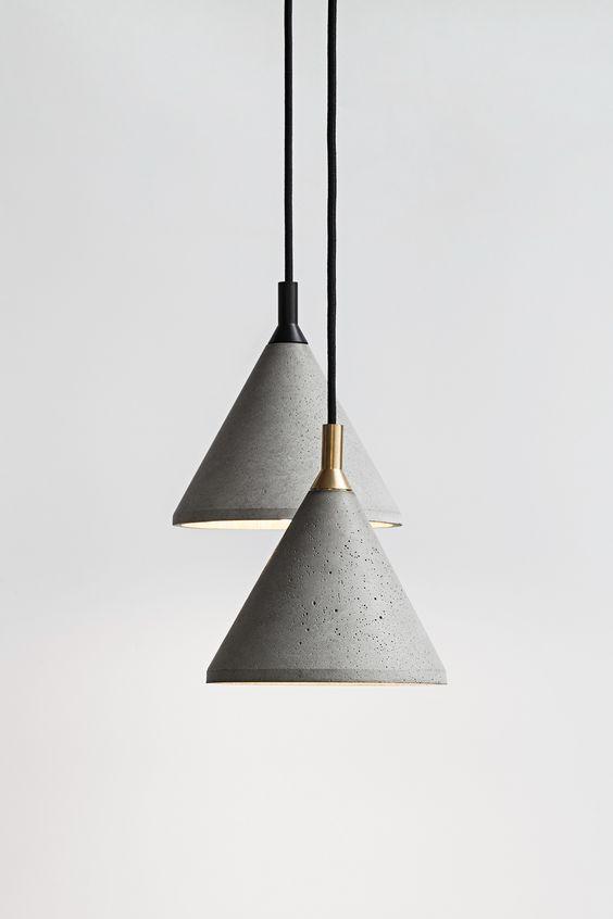 lampa sredni stożek